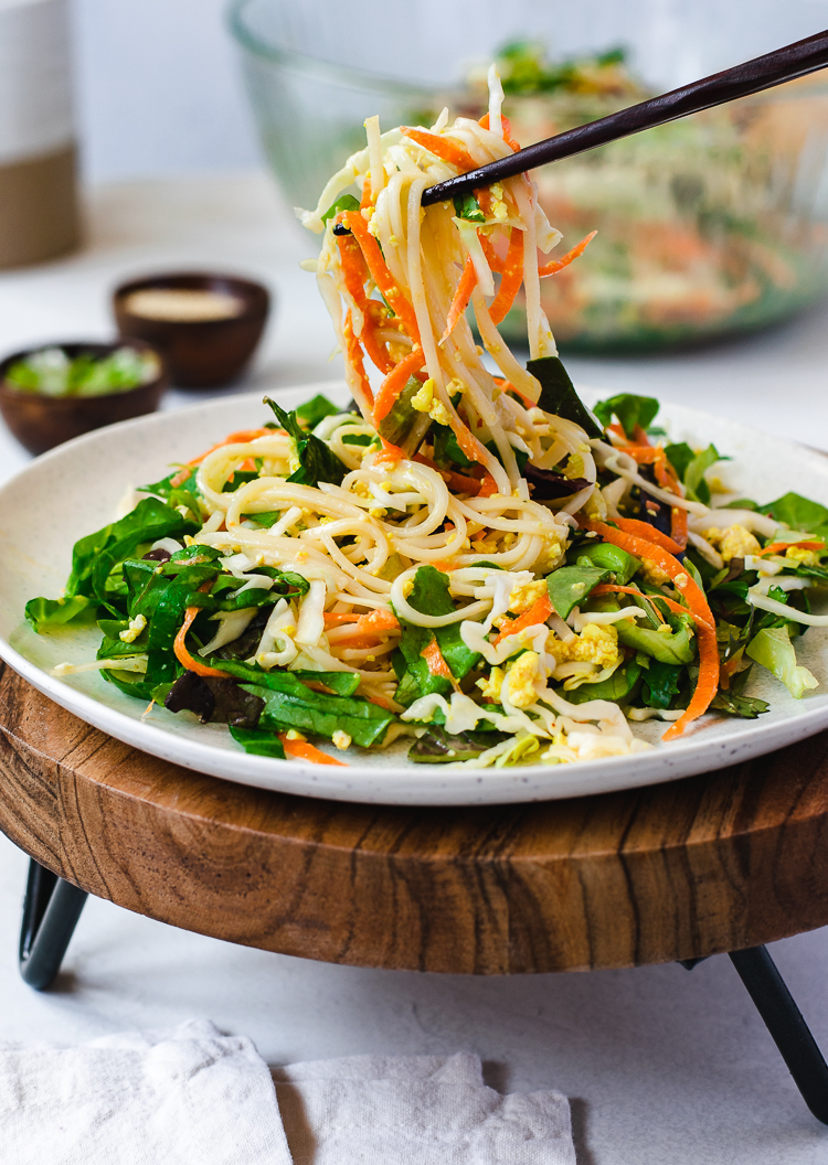 vegan somen noodle salad  ellie likes cooking