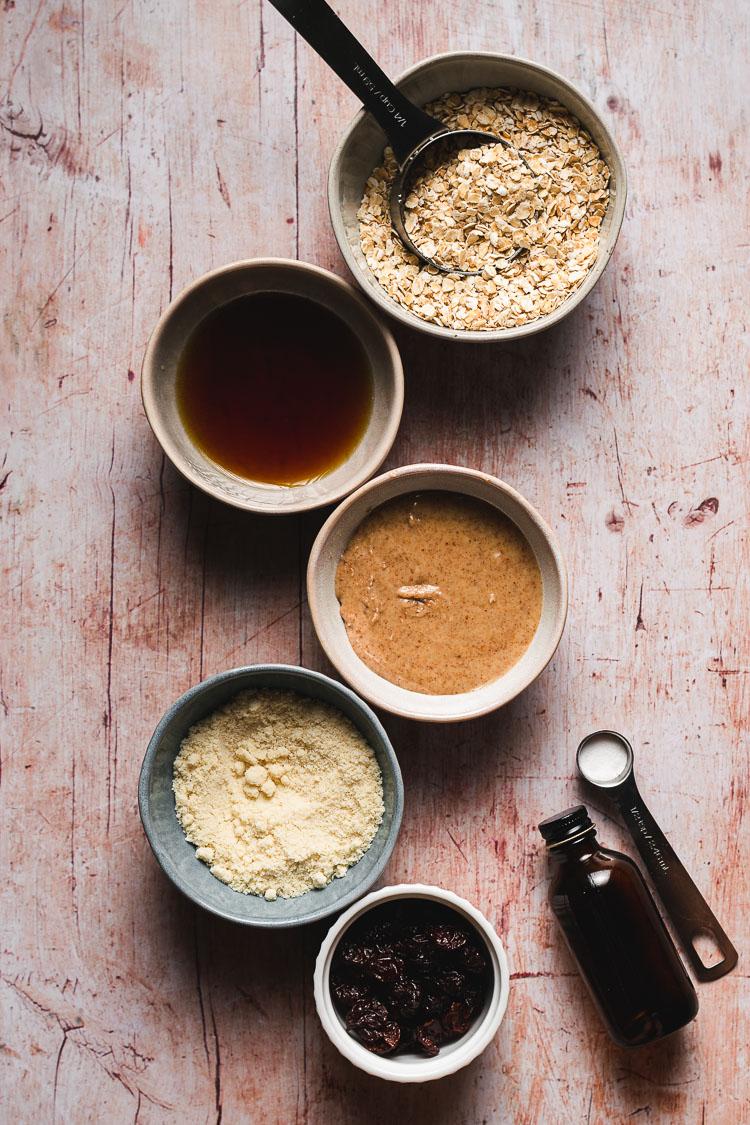 vegan oatmeal raisin cookie ingredients