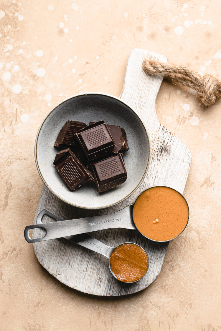 homemade peanut butter cup ingredients