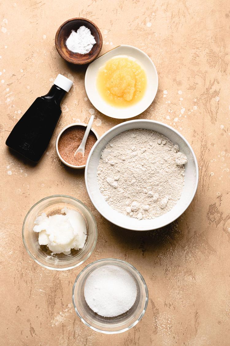vegan gluten free snickerdoodle ingredients